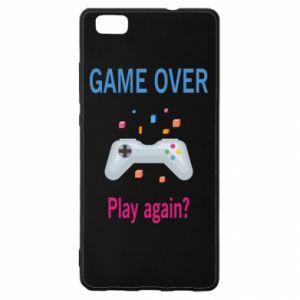 Etui na Huawei P 8 Lite Game over. Play again?