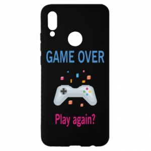 Etui na Huawei P Smart 2019 Game over. Play again?