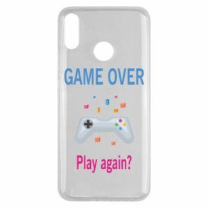 Etui na Huawei Y9 2019 Game over. Play again?
