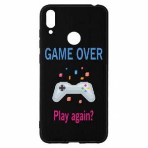 Etui na Huawei Y7 2019 Game over. Play again?
