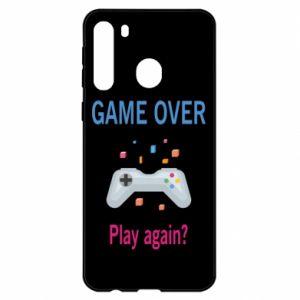 Etui na Samsung A21 Game over. Play again?