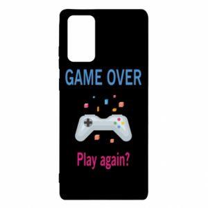 Etui na Samsung Note 20 Game over. Play again?