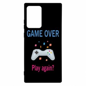 Etui na Samsung Note 20 Ultra Game over. Play again?
