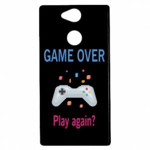 Etui na Sony Xperia XA2 Game over. Play again?