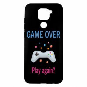Etui na Xiaomi Redmi Note 9/Redmi 10X Game over. Play again?