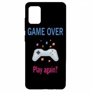Etui na Samsung A51 Game over. Play again?