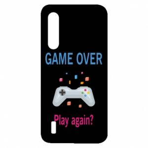 Etui na Xiaomi Mi9 Lite Game over. Play again?
