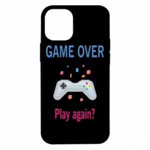 Etui na iPhone 12 Mini Game over. Play again?