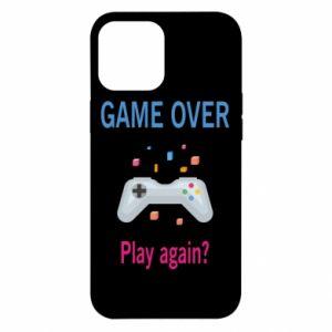 Etui na iPhone 12 Pro Max Game over. Play again?