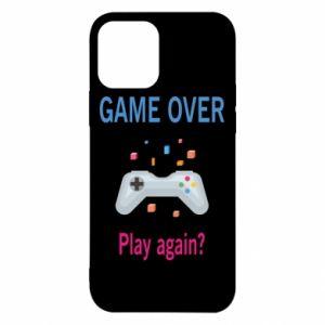Etui na iPhone 12/12 Pro Game over. Play again?