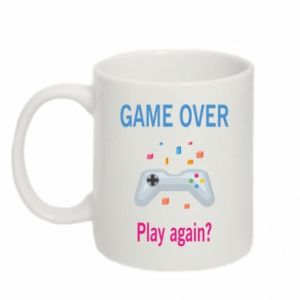 Mug 330ml Game over. Play again?