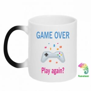 Kubek-magiczny Game over. Play again?