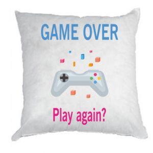 Poduszka Game over. Play again?