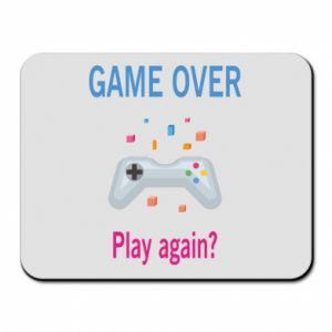 Podkładka pod mysz Game over. Play again?
