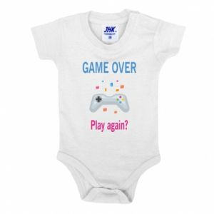 Body dziecięce Game over. Play again?