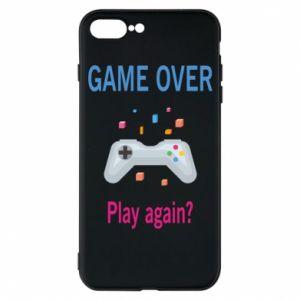 Etui do iPhone 7 Plus Game over. Play again?