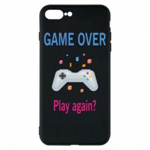 Etui na iPhone 8 Plus Game over. Play again?
