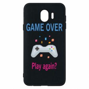Etui na Samsung J4 Game over. Play again?