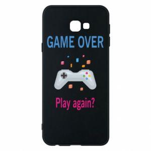 Etui na Samsung J4 Plus 2018 Game over. Play again?