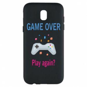 Etui na Samsung J5 2017 Game over. Play again?
