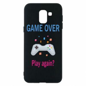 Etui na Samsung J6 Game over. Play again?