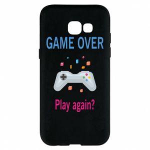 Etui na Samsung A5 2017 Game over. Play again?
