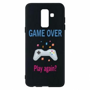 Etui na Samsung A6+ 2018 Game over. Play again?