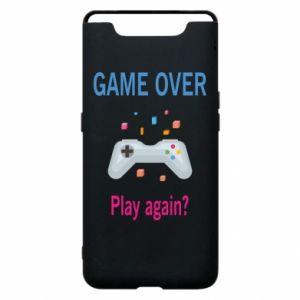 Etui na Samsung A80 Game over. Play again?