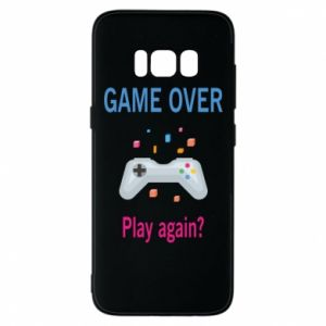 Etui na Samsung S8 Game over. Play again?