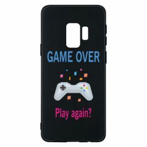 Etui na Samsung S9 Game over. Play again?