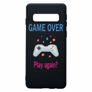 Etui na Samsung S10 Game over. Play again?