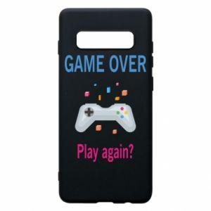 Etui na Samsung S10+ Game over. Play again?