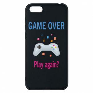 Etui na Huawei Y5 2018 Game over. Play again?
