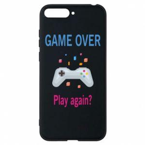 Etui na Huawei Y6 2018 Game over. Play again?