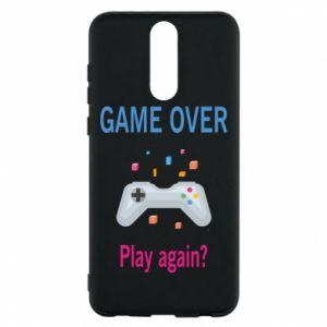 Etui na Huawei Mate 10 Lite Game over. Play again?