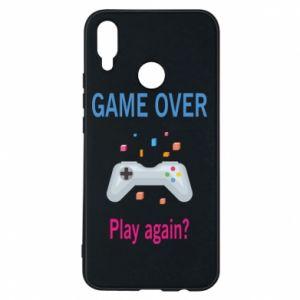 Etui na Huawei P Smart Plus Game over. Play again?