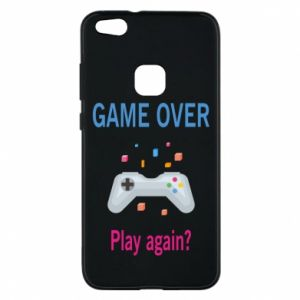 Etui na Huawei P10 Lite Game over. Play again?