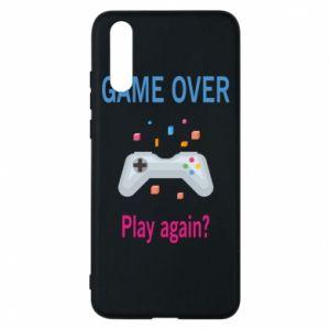 Etui na Huawei P20 Game over. Play again?