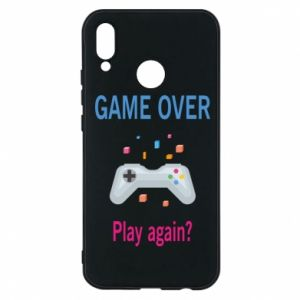 Etui na Huawei P20 Lite Game over. Play again?