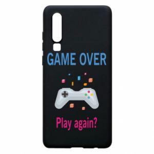 Etui na Huawei P30 Game over. Play again?