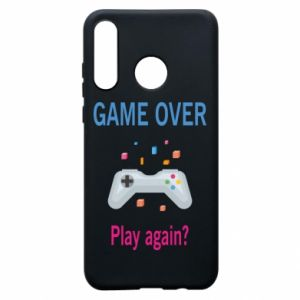 Etui na Huawei P30 Lite Game over. Play again?
