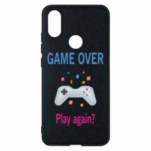 Etui na Xiaomi Mi A2 Game over. Play again?