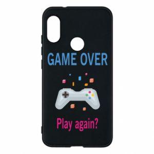 Etui na Mi A2 Lite Game over. Play again?