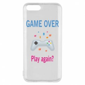 Etui na Xiaomi Mi6 Game over. Play again?
