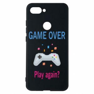 Etui na Xiaomi Mi8 Lite Game over. Play again?