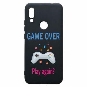 Etui na Xiaomi Redmi 7 Game over. Play again?