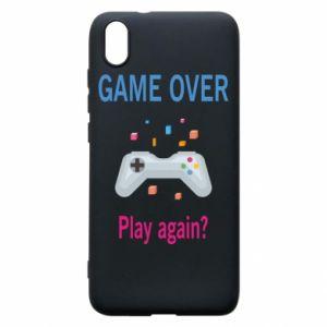 Etui na Xiaomi Redmi 7A Game over. Play again?