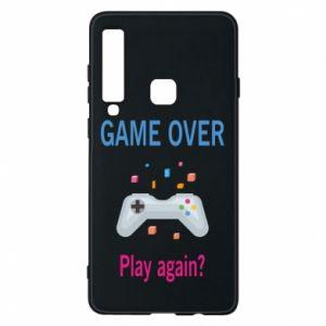 Etui na Samsung A9 2018 Game over. Play again?