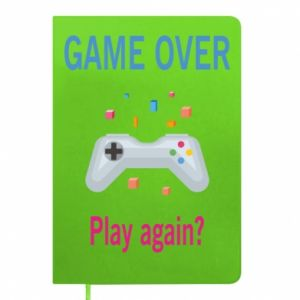 Notepad Game over. Play again?