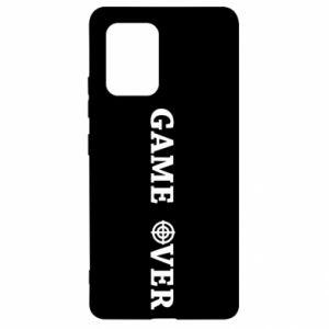 Samsung S10 Lite Case Game over